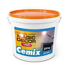 Omítka silikonová Cemix Magic Decor FINE bezpř., 25 kg