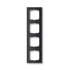 Rámeček čtyřnásobný Future linear, mechová černá