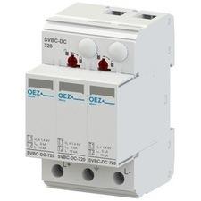 Svodič přepěťí T1 + T2 pro stejnosměrné aplikace, OEZ SVBC-DC-720-3V-MZ