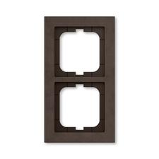Rámeček ABB Busch-axcent dvojnásobný papír hnědý