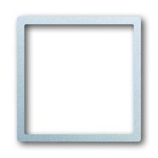 Kryt přístroje osvětlení Impuls saténová stříbrná