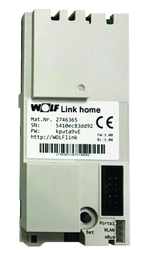 Modul WOLF Link Home pro zabudování