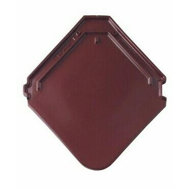 BRAMAC Smaragd základní taška glazura kaštanově hnedá