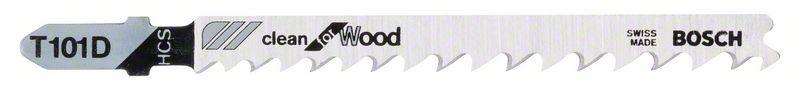 Plátek pilový na dřevo Bosch T 101 D Clean for Wood 25 ks