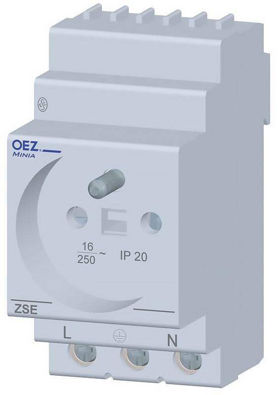 Zásuvka soklová, OEZ ZSE-03, cena za ks