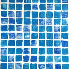 Bazénová fólie z PVC-P ALKORPLAN 3000 mozaika tmavá 1,5 mm, šíře 1,65 m