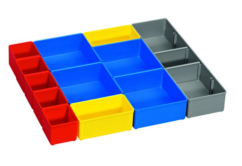 12dílná sada pořadačů pro BOSCH i-BOXX 53 Professional