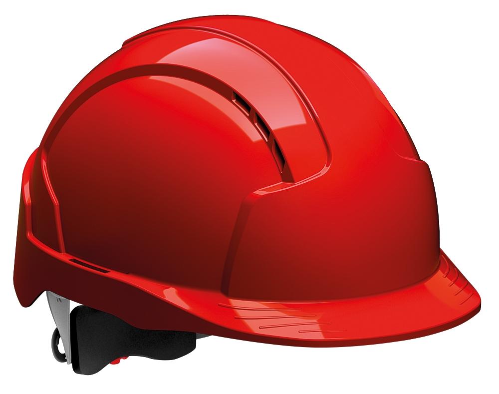 Přilba JSP EVO Lite ventilovaná, červená