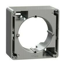 Krabice nástěnná Schneider Sedna Design aluminium