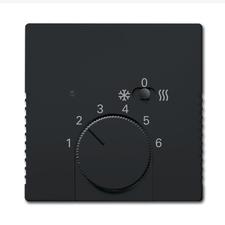 Kryt termostatu s posuvným přepínačem Future/Solo antracit