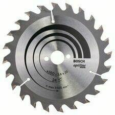 Kotouč pilový Bosch Optiline Wood 160×20×1,6 mm 24 z.