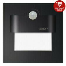 Svítidlo LED Skoff Tango s čidlem pohybu, 4000K, 2,4W, černá
