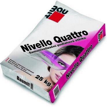 Samonivelační stěrka Baumit Nivello Quattro 25kg