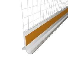 Lišta soklová ETICS LTO s okapničkou plastová s tkaninou