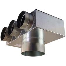 Box rozdělovací rohový 1+3 Regulus 75×125 mm