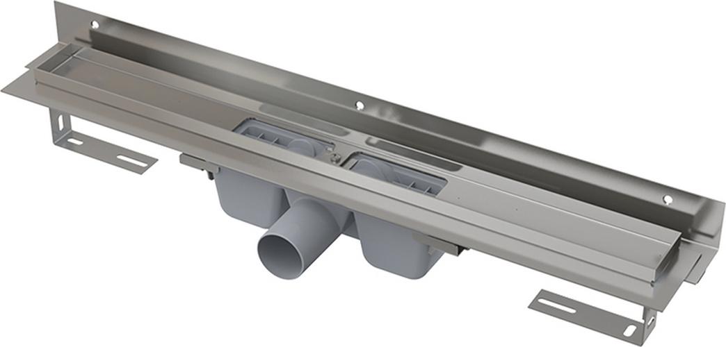 Podlahový žlab Alcaplast APZ4-850 Flexible s okrajem pro perforovaný rošt
