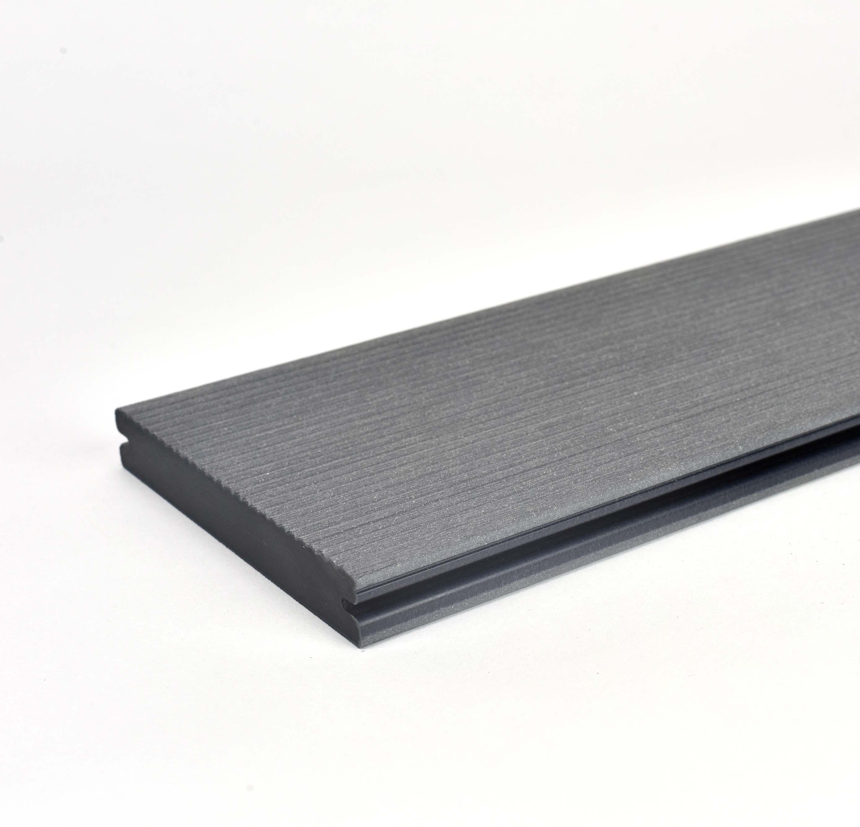 Prkno terasové dřevoplastové Twinson Massive odstín břidlice 140x20×6000 mm