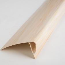 F profil ukončovací plastový hnědý melír 3000 mm