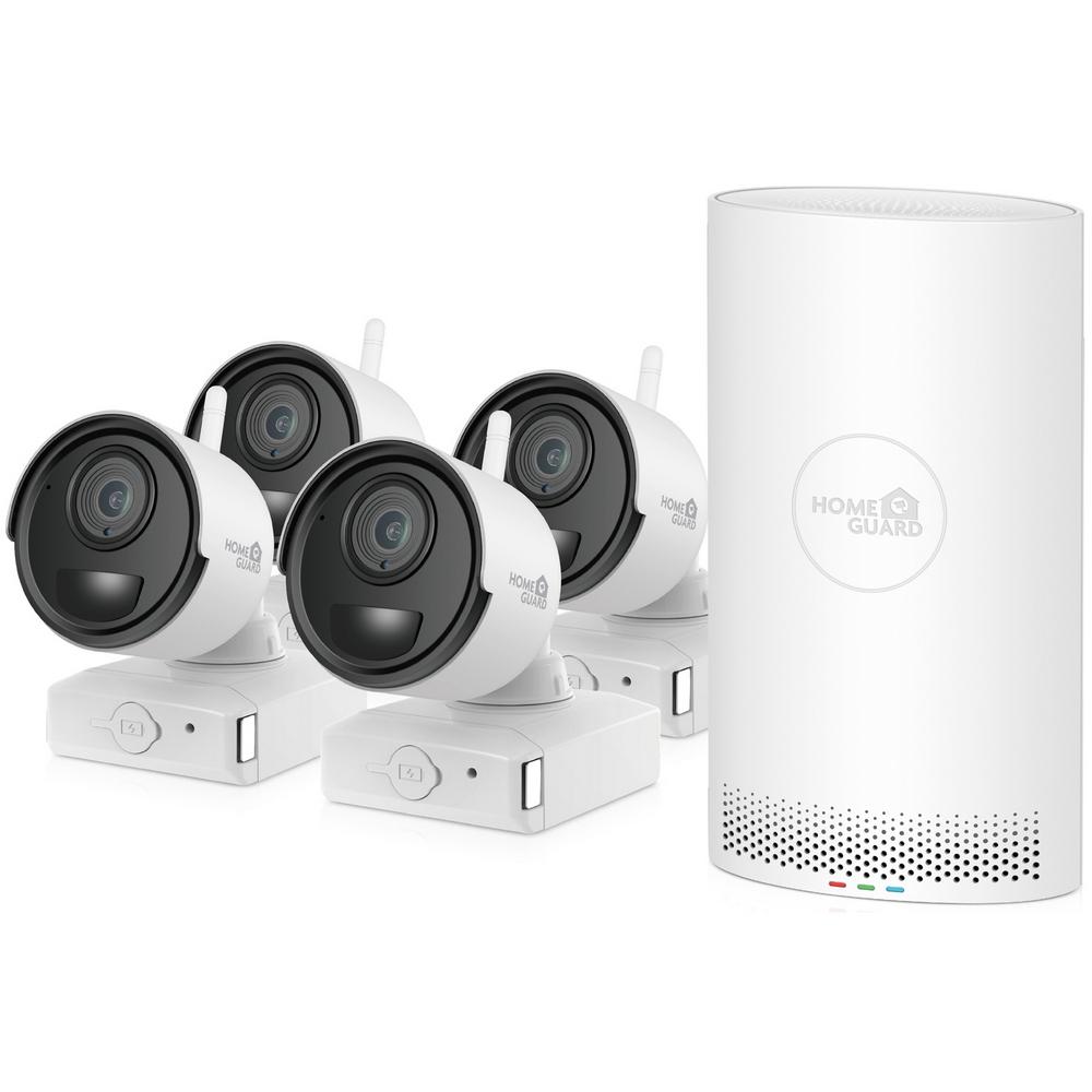 Systém kamerový iGET HOMEGUARD HGNVK68004, 4 kamery