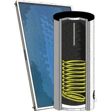 Sestava solární Regulus SOL 250/2 zásobník s 2 výměníky