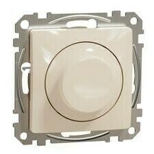 Stmívač otočný LED univerzální Schneider Sedna Design béžová