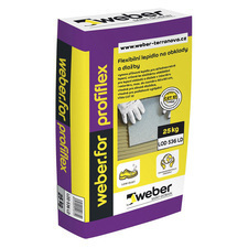 Mrazuvzdorný jednosložkový tmel Weber.for profiflex, 25 kg