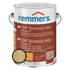 Olej terasový Remmers TOP bezbarvý, 2,5 l