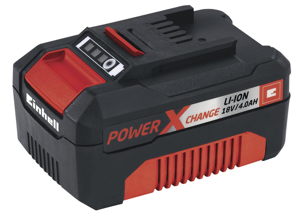 Baterie Einhell Power X-Change aku 18 V 4,0 Ah Accessory