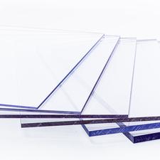 Polykarbonátová plná deska IMPEX UVP PC 4 čirá s UV ochranou 1000×2000mm