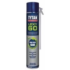 Montážní pěna TYTAN LEXY 60 830 ml