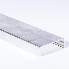 Krytka upevňovacího profilu hliníková 6 m