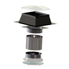 Světlovod pro plochou střechu SUNIZER ROUND průměr 230 mm