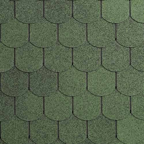Šindel asfaltový IKO Superglass Biber 03 amazon zelená VÝPRODEJ