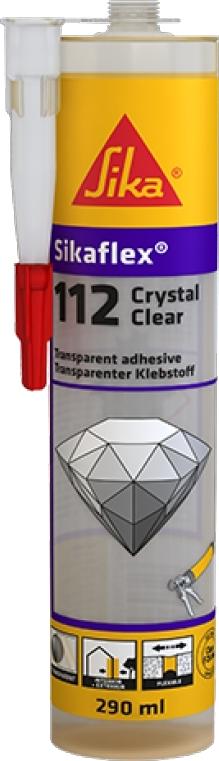 Lepidlo SIka Sikaflex Crystal Clear 290 ml