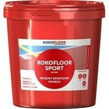 Povrch sportovní Rokofloor Sport červený, 12 kg/bal.