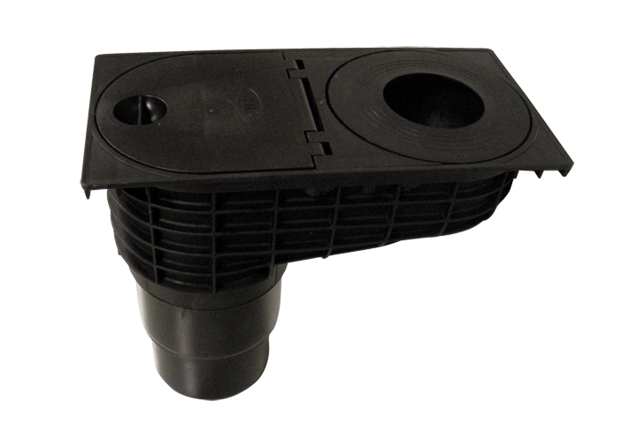 Lapač střešních splavenin HL660E DN125/100