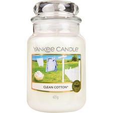 Aromatická svíčka Clean Cotton