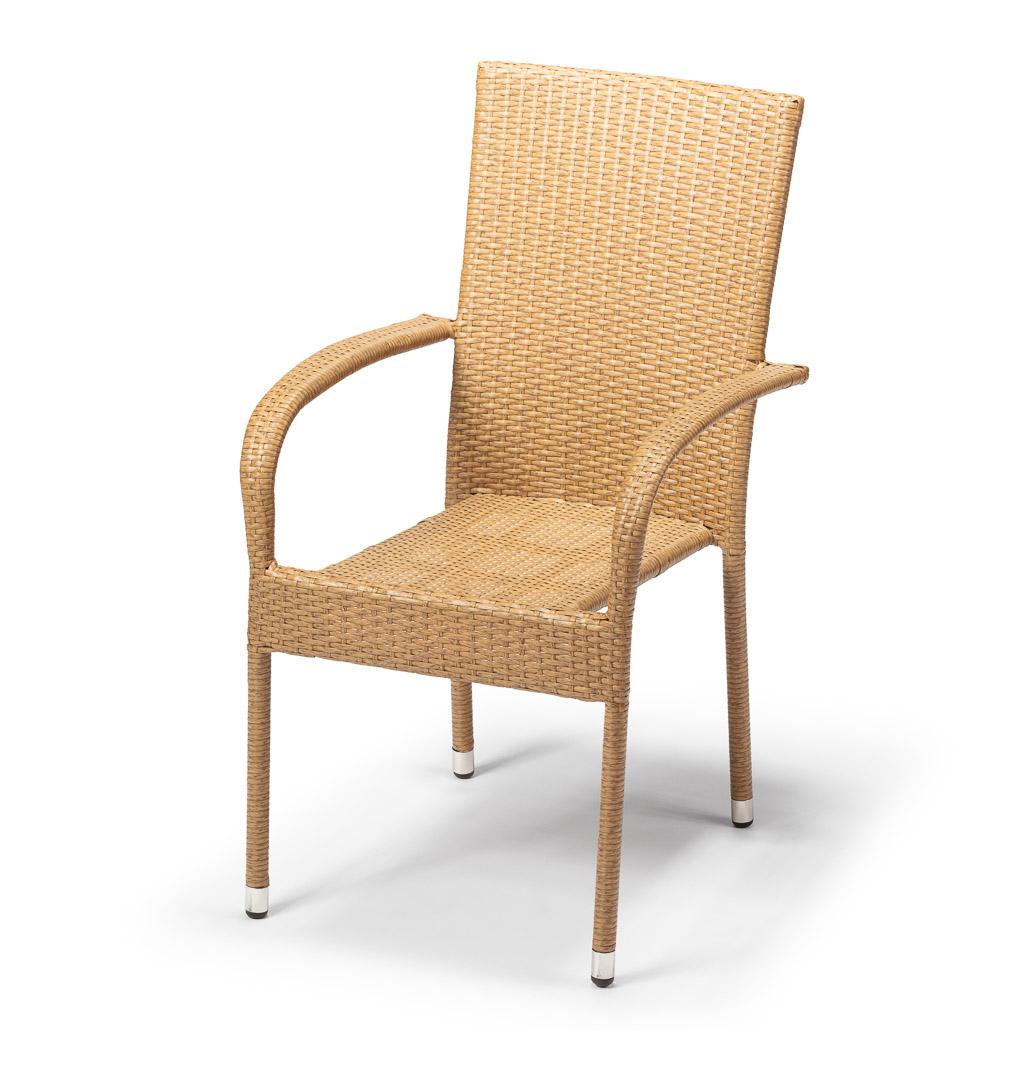 Zahradní židle PARIS cappuccino, cena za ks