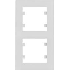 Rámeček svislý Hager lumina INTENSE, bílá