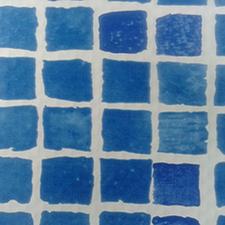 Bazénová fólie z PVC-P ALKORPLAN 3000 řecká modrá 1,5 mm, šíře 1,65 m