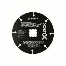 Kotouč řezný karbonový Bosch Carbide Multi Wheel X-LOCK 125×22,23×1 mm