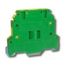 Svorka řadová RSA PE 2,5 A zelenožlutá