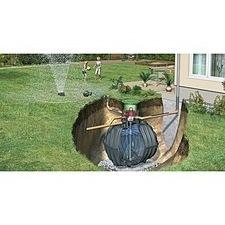 Sestava nádrže na dešťovou vodu Graf Carat Garten Jet, 6 500 l