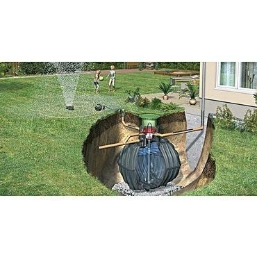 Sestava nádrže na dešťovou vodu Graf Carat Garten Jet, 3 750 l