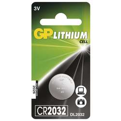Baterie lithiová knoflíková GP CR2032 (1 ks/bal)
