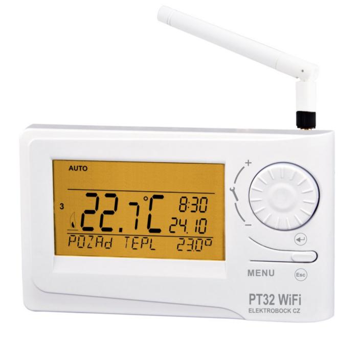 Termostat prostorový s WIFI modulem PT32 WiFi