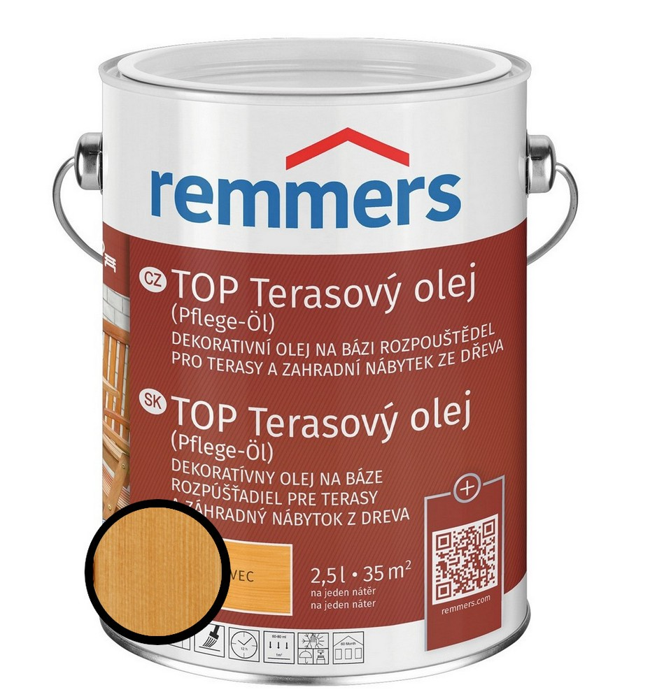 Olej terasový Remmers TOP bangkirai, 5 l