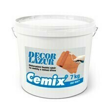 Nátěr lazurovací Cemix Decor LAZUR odstín dub, 7 kg