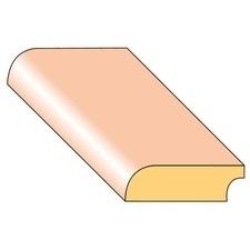 Lišta podlahová P5 smrk nastavený 27×9×2000 mm, 25 ks/bal