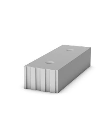 Vápenopískový prvek SENDWIX 12DF-D THERM 498×175×113 mm